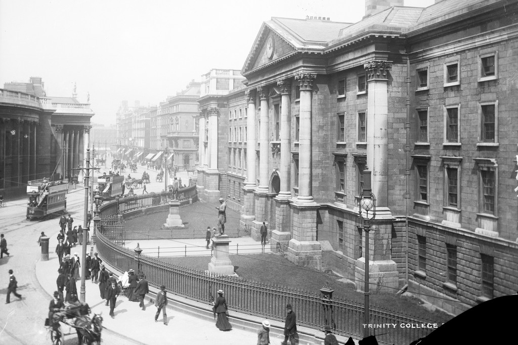 Trinity College Dublin, late 19th century.