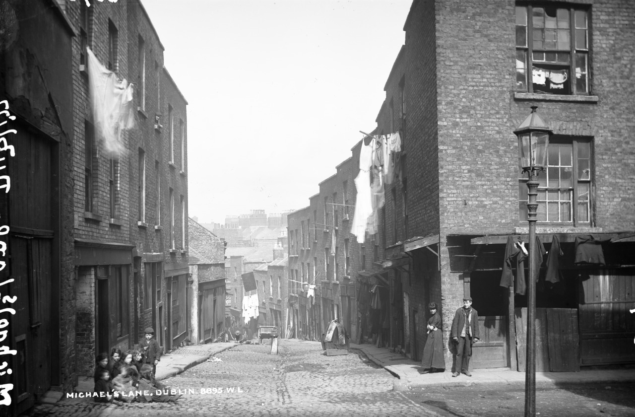 Irish History - Michael's Lane Dublin