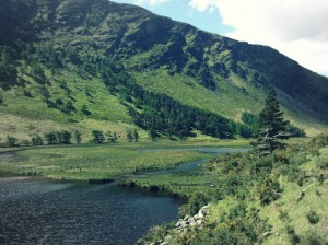 Glendalough Lakes - Wicklow Mountains