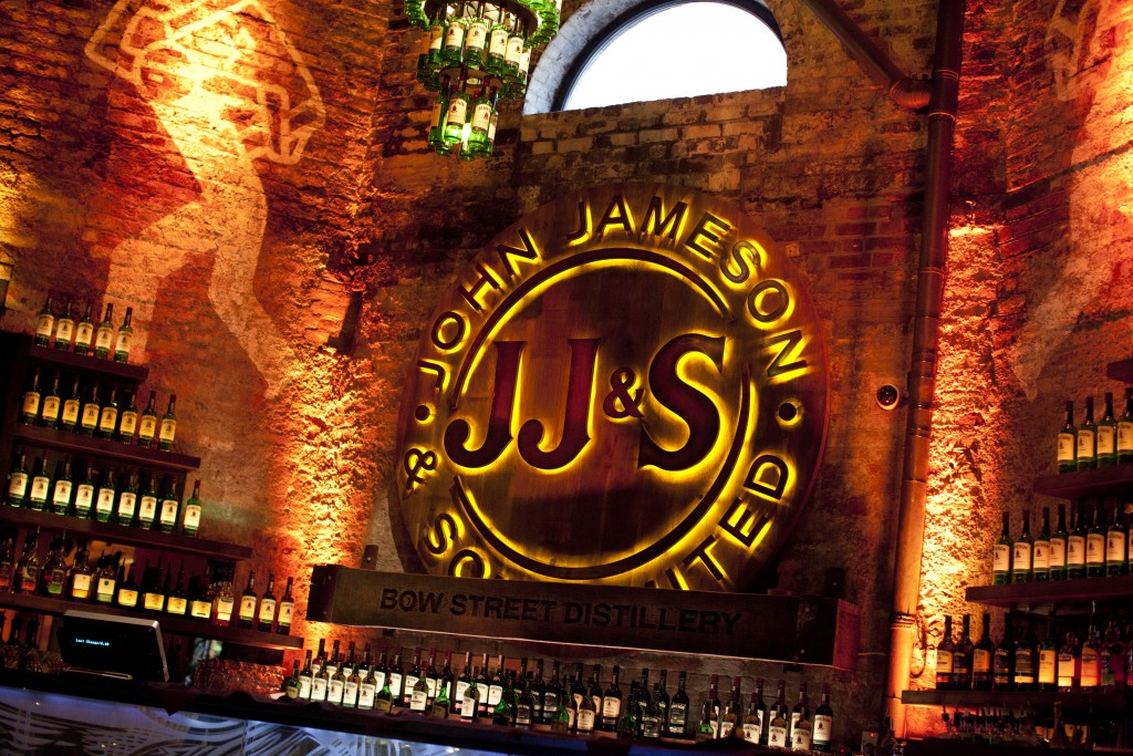The Old Jameson Whiskey Distillery