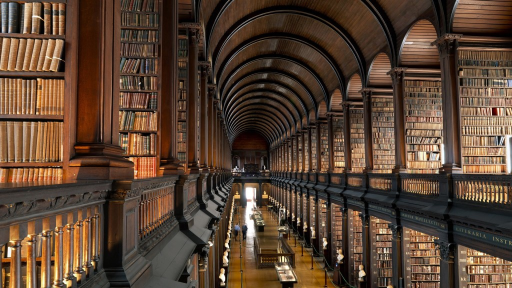 The Old Library, Trinity College