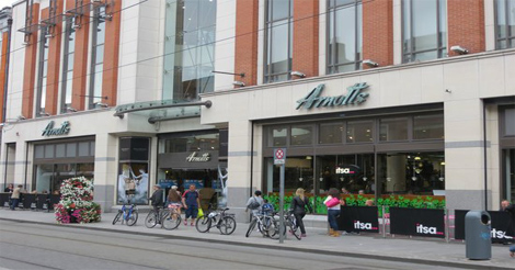 arnotts dublin, best place in dublin for a poo