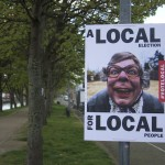Local Election Poster from League of Gentleman