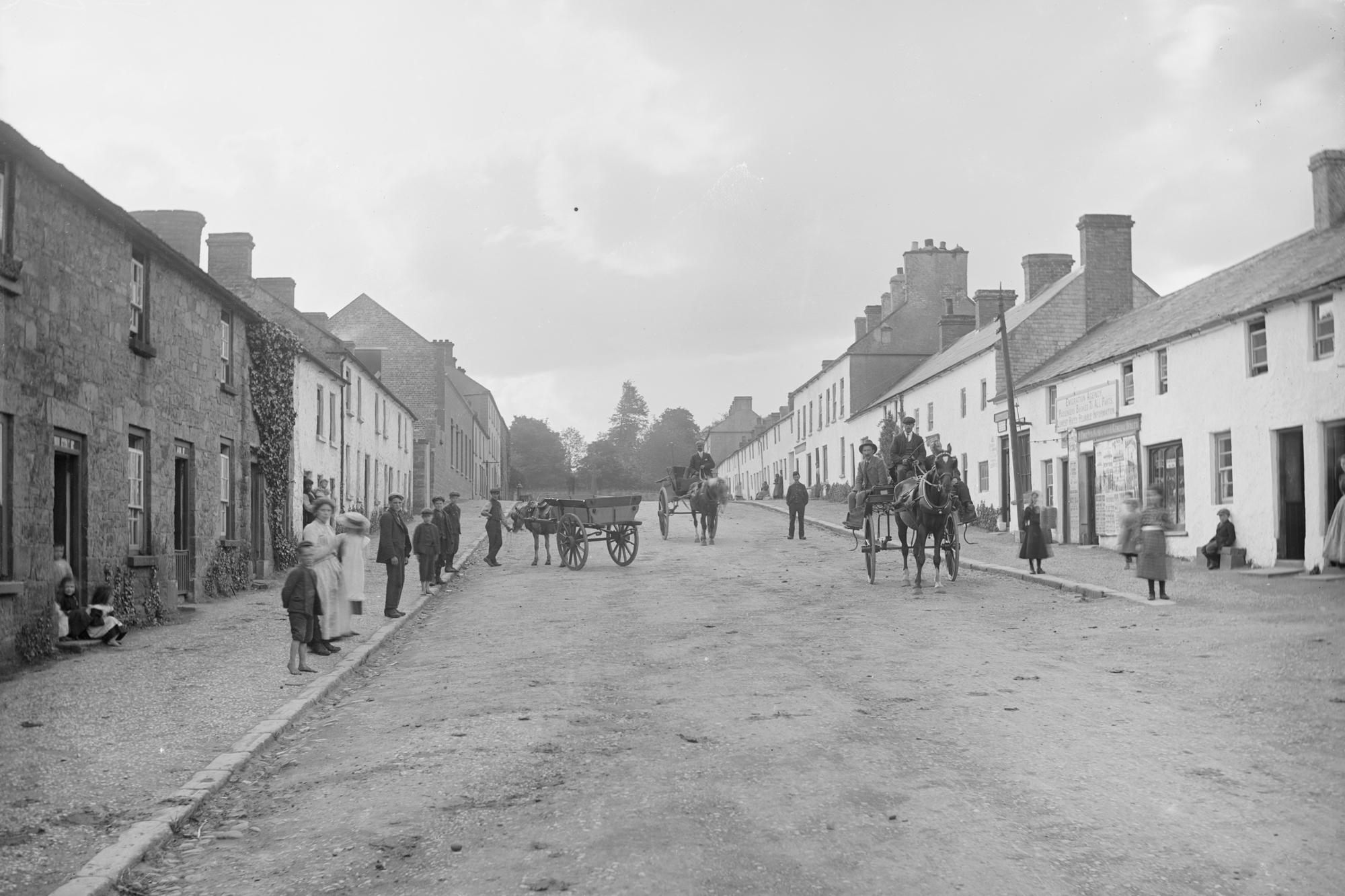 Famine Era - Main Street, Donaghmore, Co. Tyrone