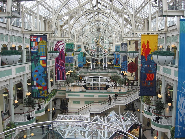 Shopping Centre Dublin Ireland