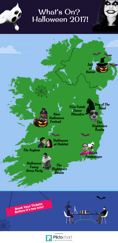 halloween events ireland